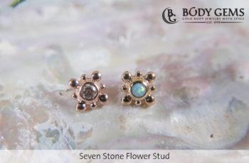 Piercingstudio Nijmegen_Seven Stone Flower