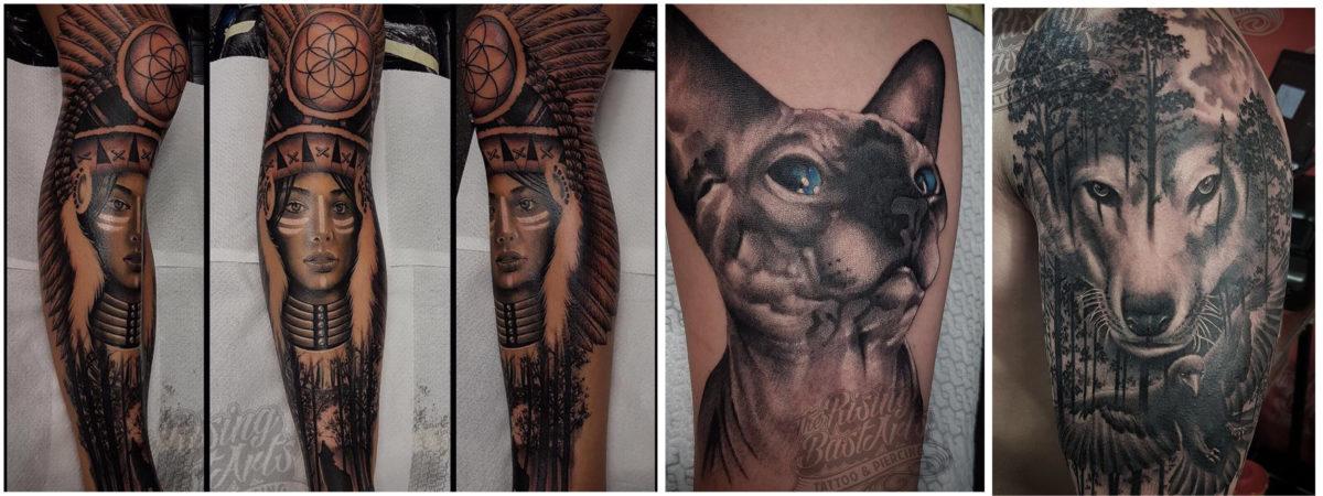 Foto's voor Slideshow_Tattoo zonder afspraak_Rising Bastards