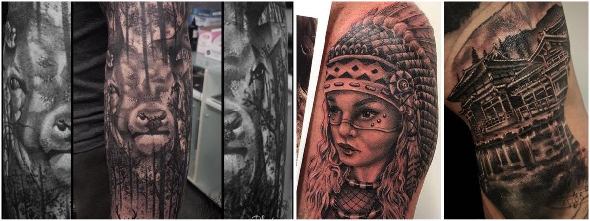 Foto's voor Slideshow_Tattoo zonder afspraak_Rising Bastards2