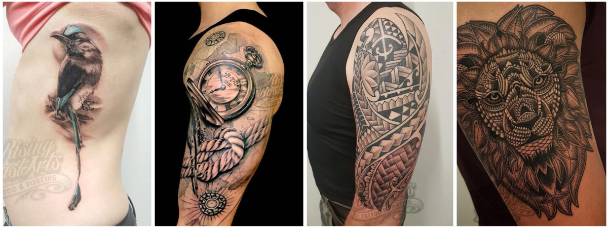 Foto's voor Slideshow_Tattoo zonder afspraak_Rising Bastards5