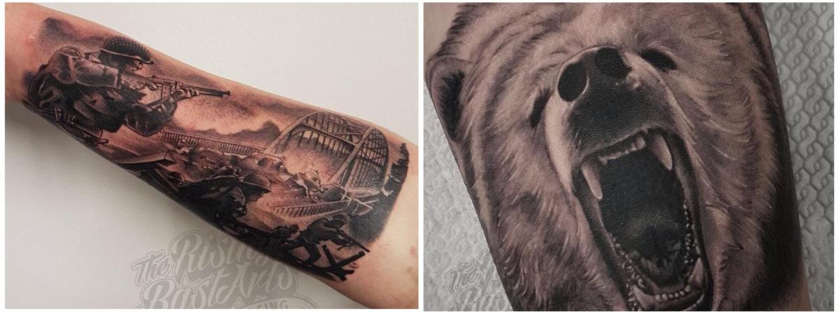 Foto's voor Slideshow_Tattoo zonder afspraak_Rising Bastards6
