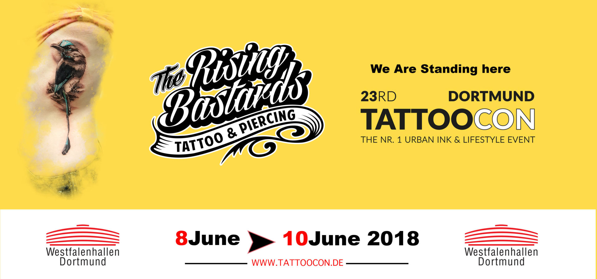 Dortmund Tattoo Convention 2018 Tattooshop Nijmegen